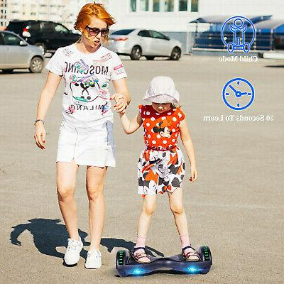 "6.5"" Hoverboard Self Balancing Bluetooth Scooter"