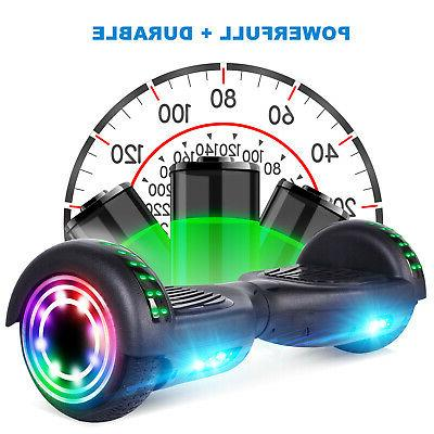 "6.5"" LED Electric Self Balancing UL 2272 No Bag"