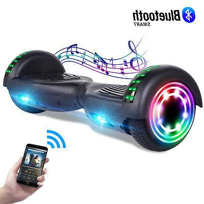"6.5"" LED Hoverboard Electric Self Balancing Scooter UL 2272 No"