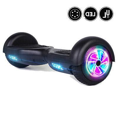 "6.5"" Wheel Self Scooter Black UL"