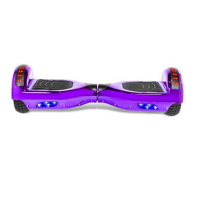 """6.5"""" Hoverboard Scooter Chrome Purple with Speaker"""