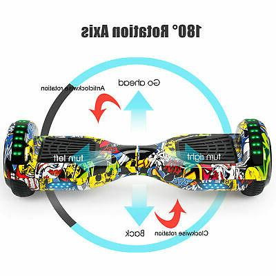 """6.5"""" Hoverboard Electric Self Balance LED Lights without Bag"""