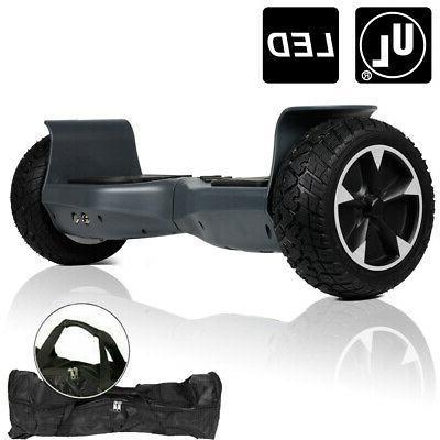 8.5'' Hummer Hoverboard All-Terrain Off Road LED Self Balanc