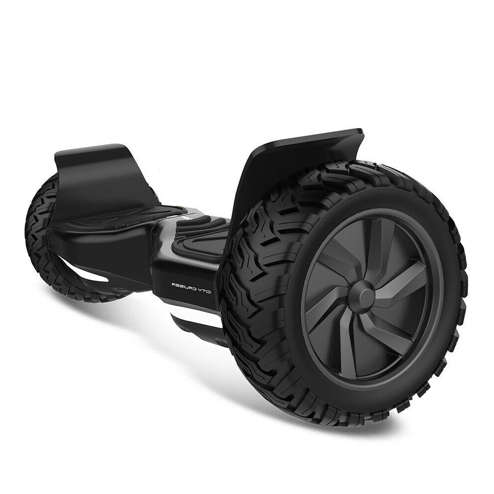 """City 8.5"""" Scooter Terrain Tires Bluetooth"""