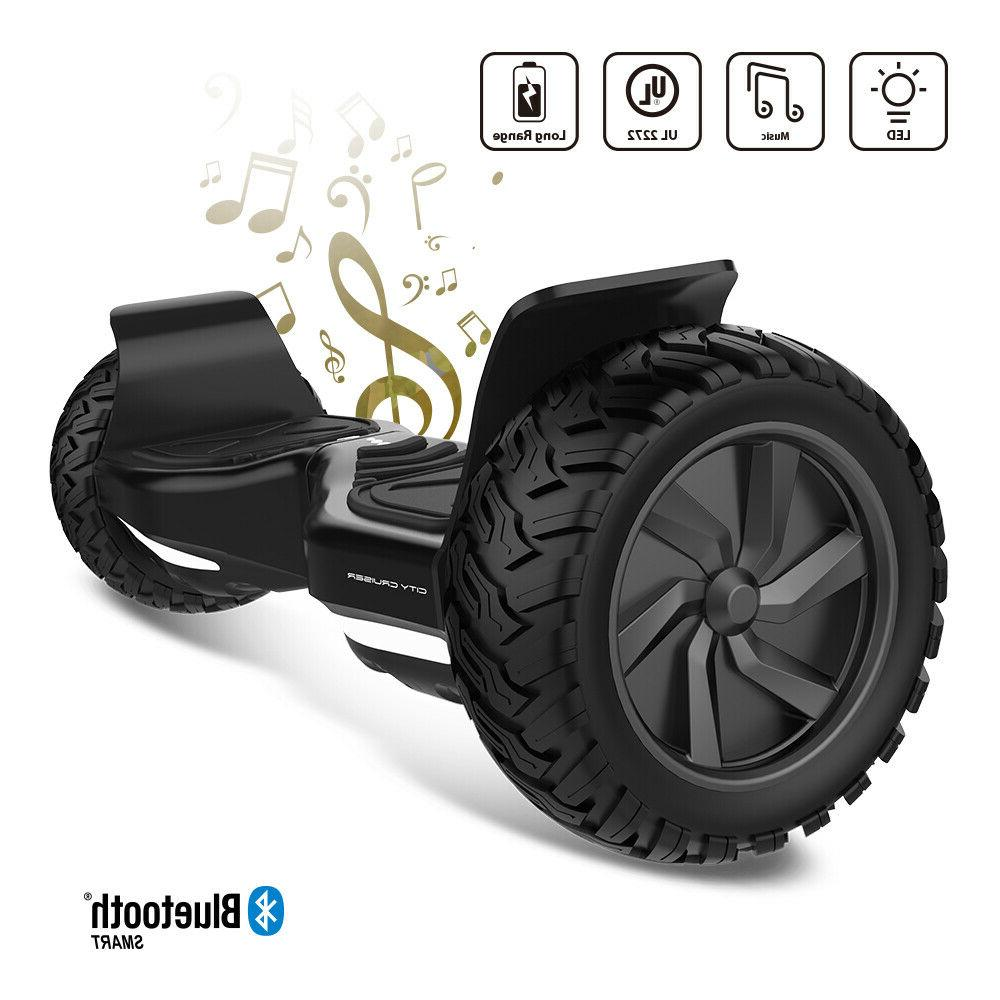 City Cruiser Scooter All Terrain Tires Bluetooth