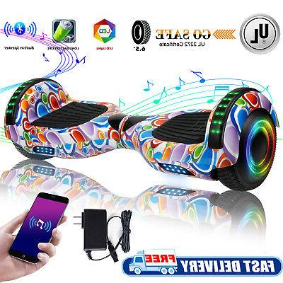 all terrain 6 5 hoverboard bluetooth electric