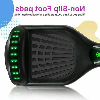 Bluetooth Hoverboard Electric Self Balancing Black+Gray