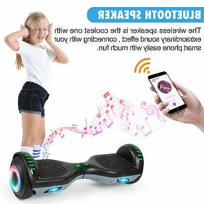 Bluetooth Hoverboard Self Balancing Black+Gray UL2272