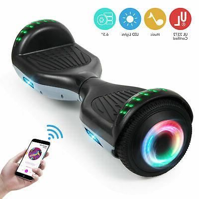 Bluetooth Hoverboard Electric Balancing Scooter not Bag Black+Gray