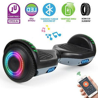 bluetooth hoverboard electric self balancing scooter not