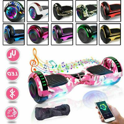 Off Road Bluetooth Hoverboard Hover Board Scooter LED Hummer
