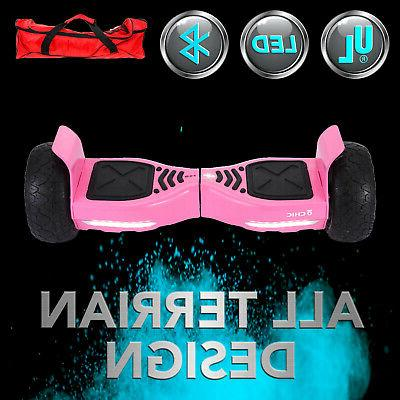 """Bluetooth 8.5"""" Hoverboard Self balancing Scooter All"""