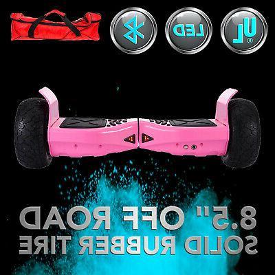 "Bluetooth 8.5"" Hummer Hoverboard balancing All Terrain Pin"