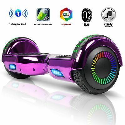 E Hoverboard Bluetooth Flash LED Smart Scooter