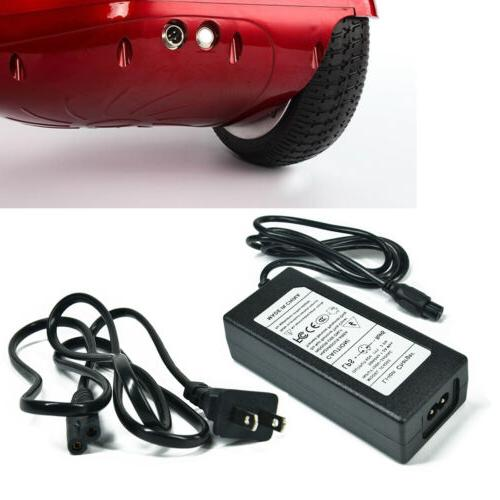 Universal Charger Adapter For Hoverboard Smart Balance Scooter 2-Wheel 42V 2A