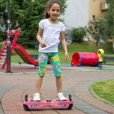 Off Bluetooth Hoverboard Self Electric Scooter Girl's Gift +