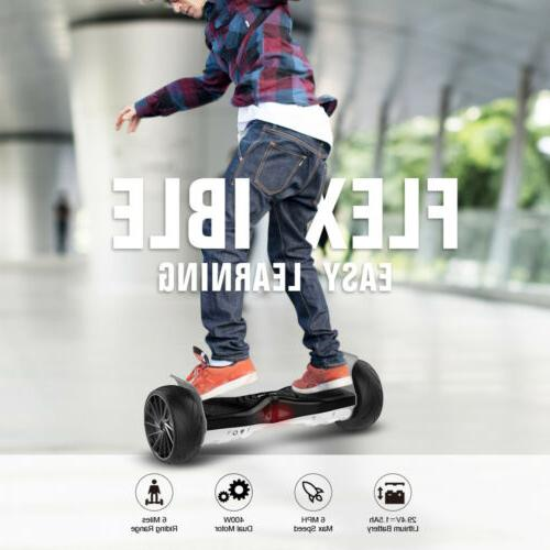 Self Balancing hooverboard with Speaker LED for