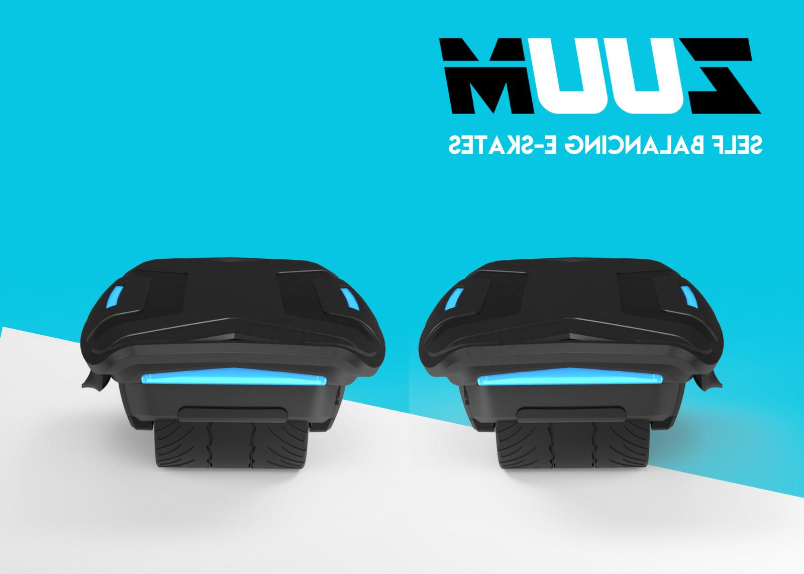 ZUUM Shoes | Seen on | Portable Balancing Skates