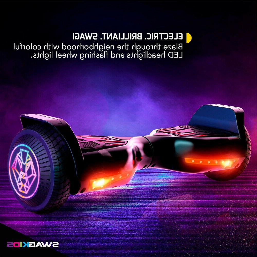 Swagboard Twist Hoverboard w/ Wheels 8+