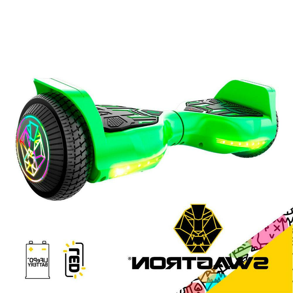 """Swagboard Twist T580 w/ Light-up 6.5"""" LED Wheels For Ages 8+"""