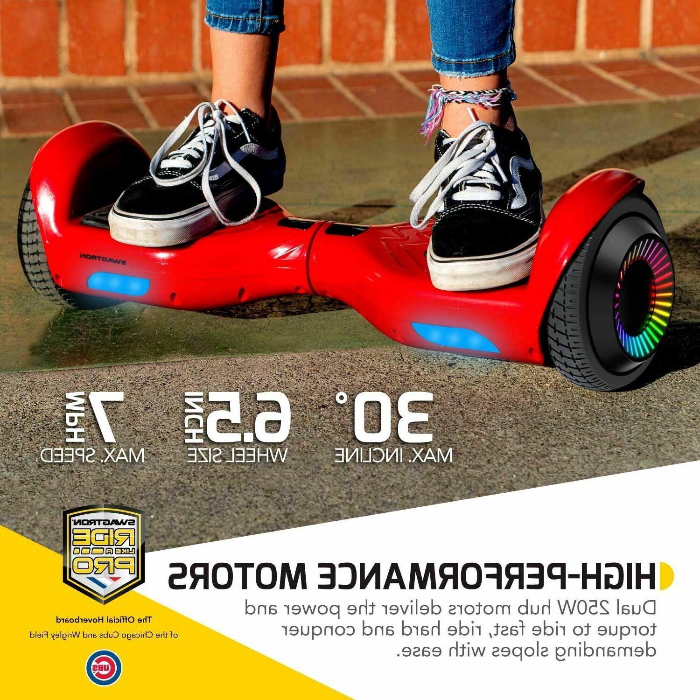 "Swagtron T881 Dual 250W w/ LED 6.5"""