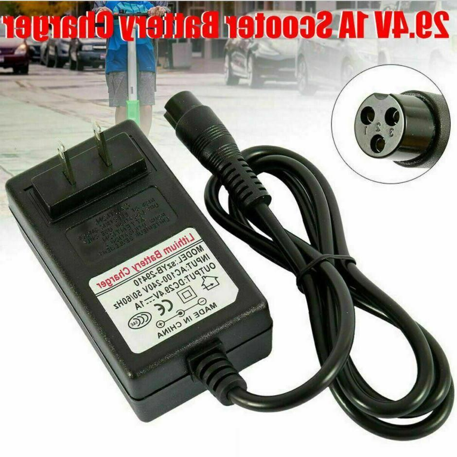 universal 29 4v 1a charger adapter