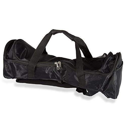 FBSPORT Waterproof Durable Fashion Handbag Two Self Balancing Smart Electric Scooters- Adjustable Shoulder Straps Storage Mesh