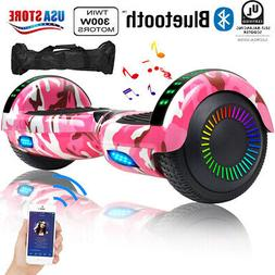 New Bluetooth Hoverboard with LED Lights for Kids Self Balan