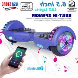 nht 6.5 Electric Self Balancing Scooter Blue Chrome Hoverboa
