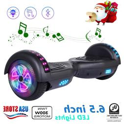 """nht 6.5"""" LED Flashing Wheel Hoverboard Electric Scooter Blue"""