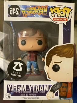 Funko POP Back To The Future #245 Marty McFly Hoverboard wit