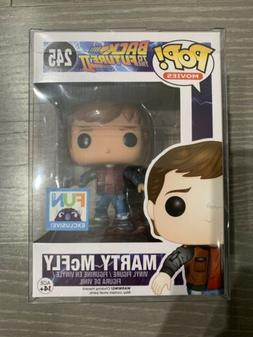 Funko POP Back to the Future MARTY McFLY w/Hoverboard #245 F