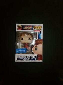 Funko Pop Back To The Future Marty With Hoverboard #964 Walm
