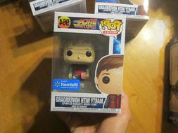 FUNKO POP MOVIES BACK TO THE FUTURE MARTY WITH HOVERBOARD 96