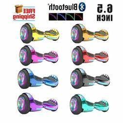 Refurbish 6.5'' Hoverboard with Bluetooth and LED FLASHING L