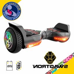 "Swagboard Twist T580 Hoverboard w/ Light-up 6.5"" LED Wheel"