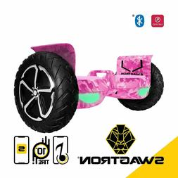 SWAGTRON T6 Off-Road Hoverboard - First in the World to Hand