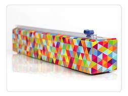 Chicwrap Triangle Refillable Plastic Wrap Dispenser/Slide Cu