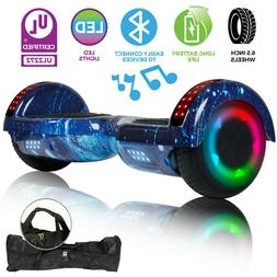 "UL2272 6.5"" Wheel Electric Hoverboard Smart Self Balancing S"