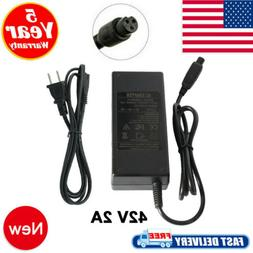 42V 2A AC Adapter Charger For PR200 Swagway X1 Swagtron T1 T